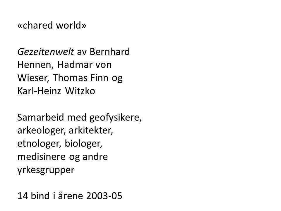 «chared world» Gezeitenwelt av Bernhard Hennen, Hadmar von Wieser, Thomas Finn og Karl-Heinz Witzko.