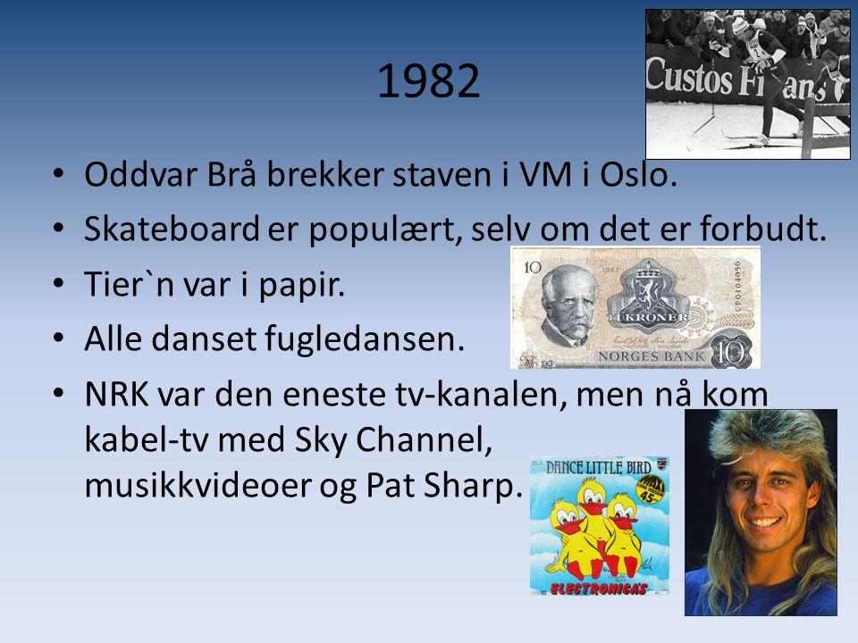 1982 Oddvar Brå brekker staven i VM i Oslo.