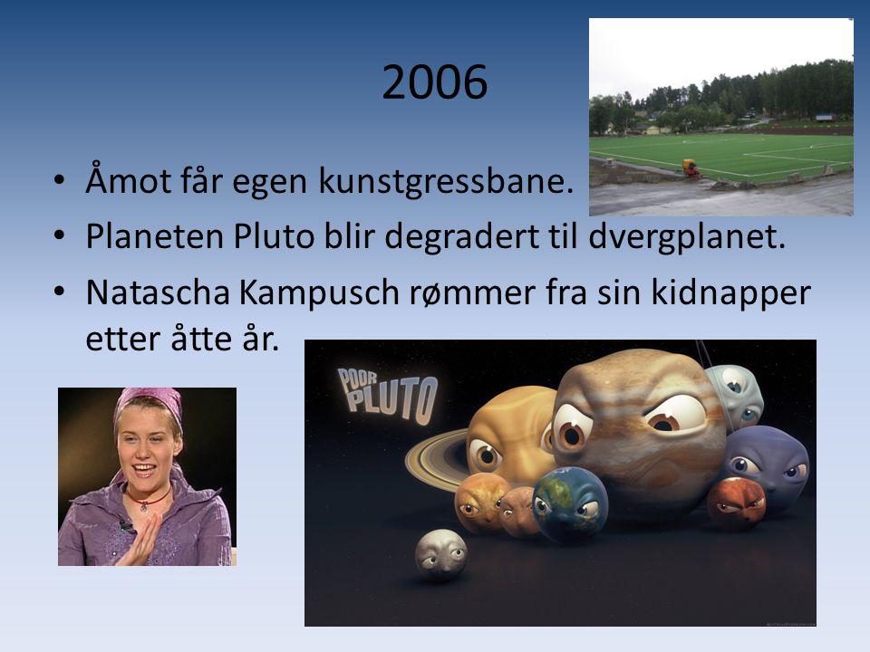 2006 Åmot får egen kunstgressbane.