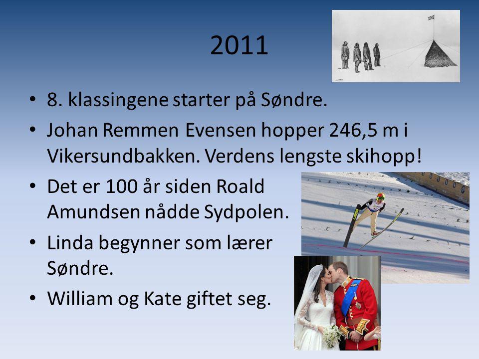 2011 8. klassingene starter på Søndre.