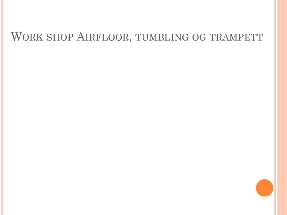 Work shop Airfloor, tumbling og trampett