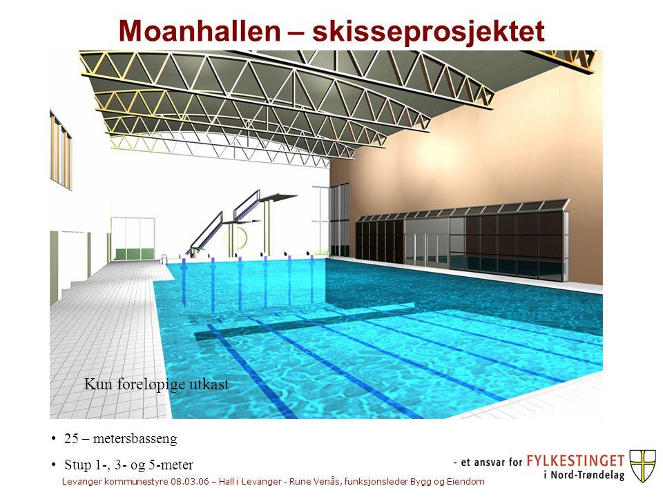 Moanhallen – skisseprosjektet
