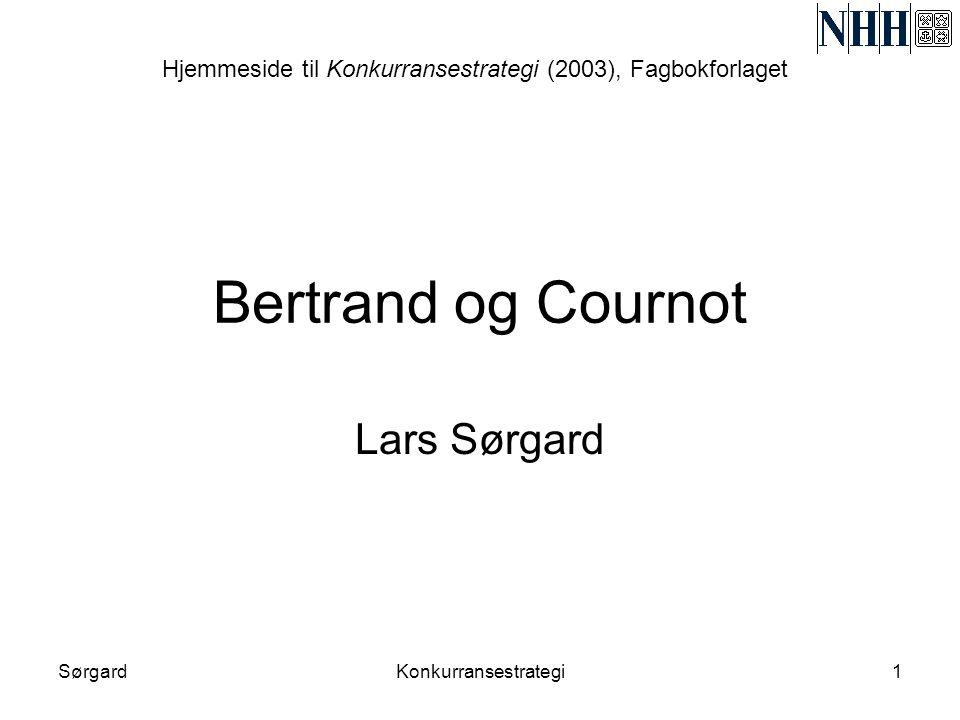 Hjemmeside til Konkurransestrategi (2003), Fagbokforlaget