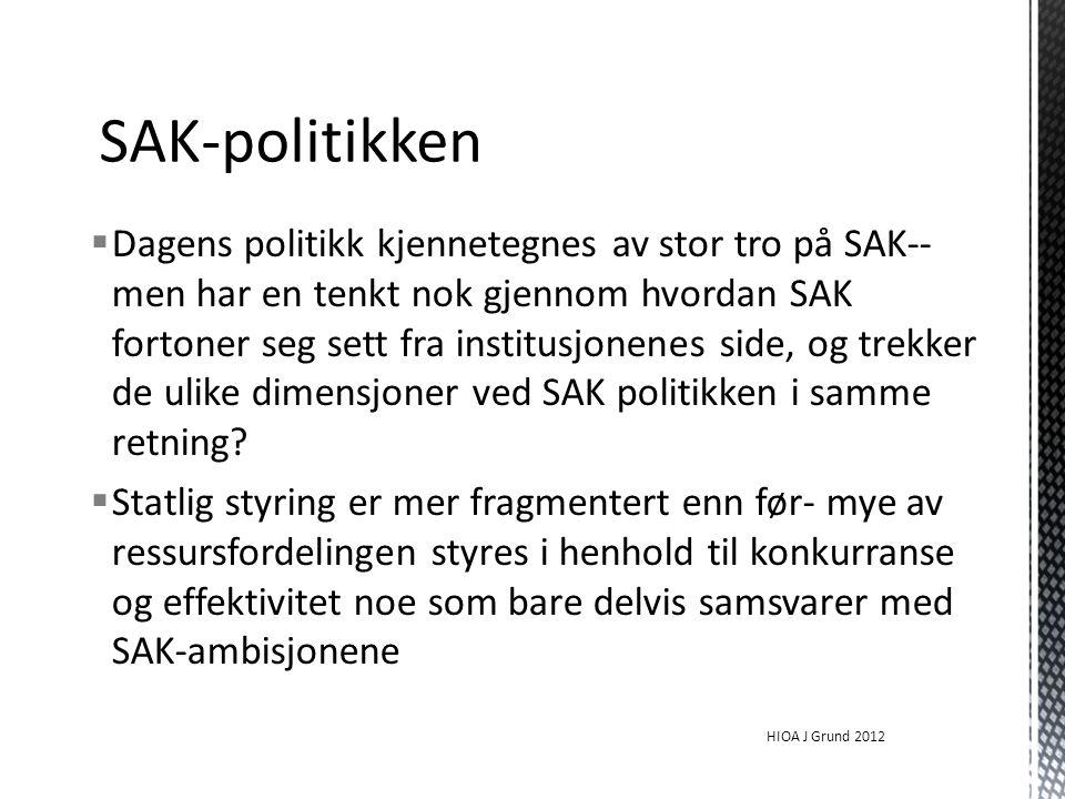 SAK-politikken