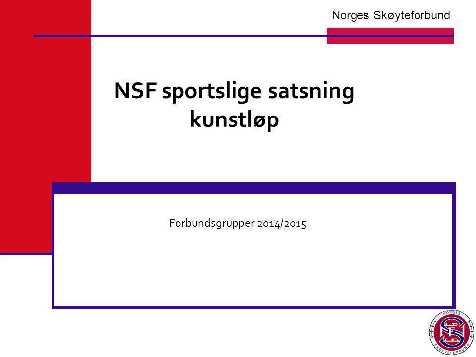 NSF sportslige satsning kunstløp
