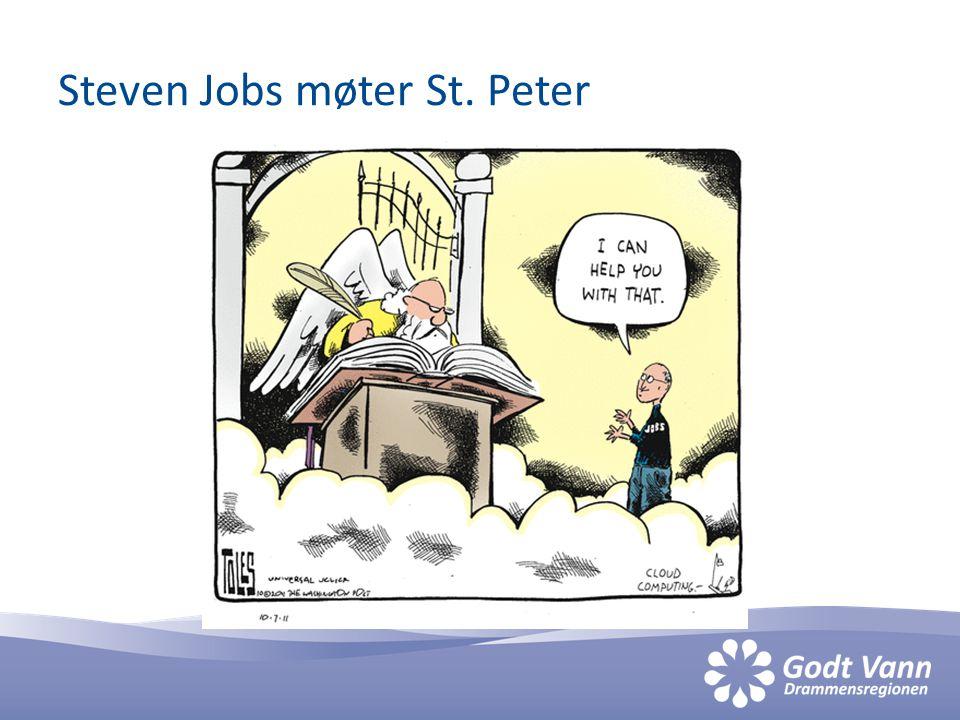 Steven Jobs møter St. Peter