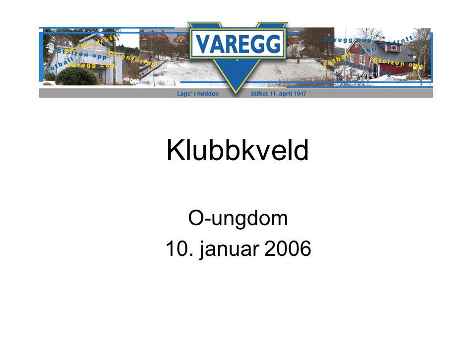 Klubbkveld O-ungdom 10. januar 2006