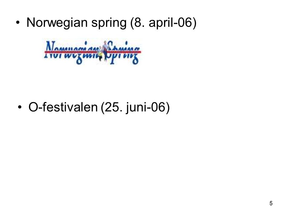 Norwegian spring (8. april-06)
