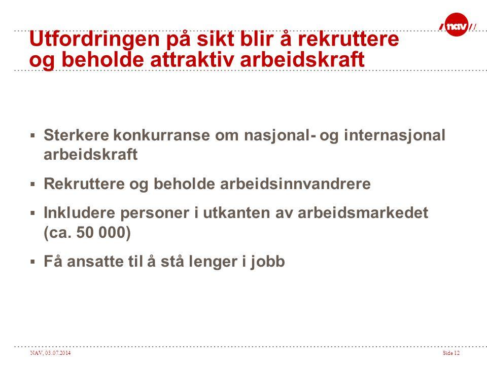 Sterkere konkurranse om nasjonal- og internasjonal arbeidskraft