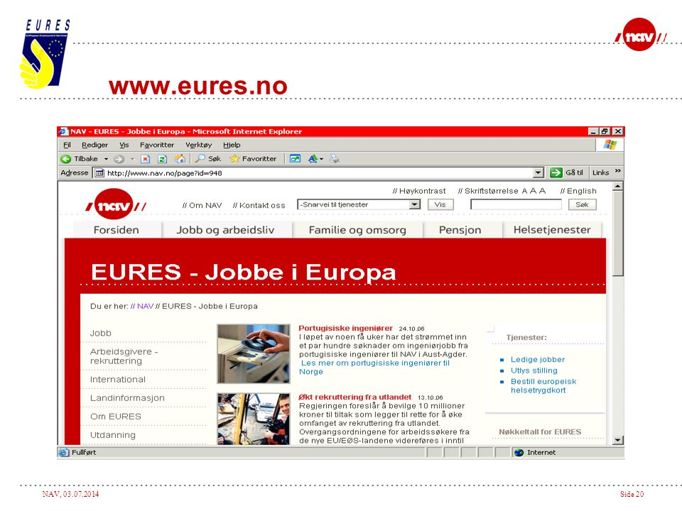 www.eures.no