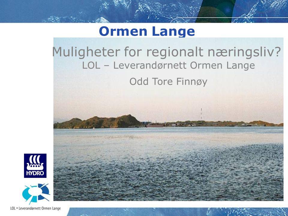 LOL – Leverandørnett Ormen Lange