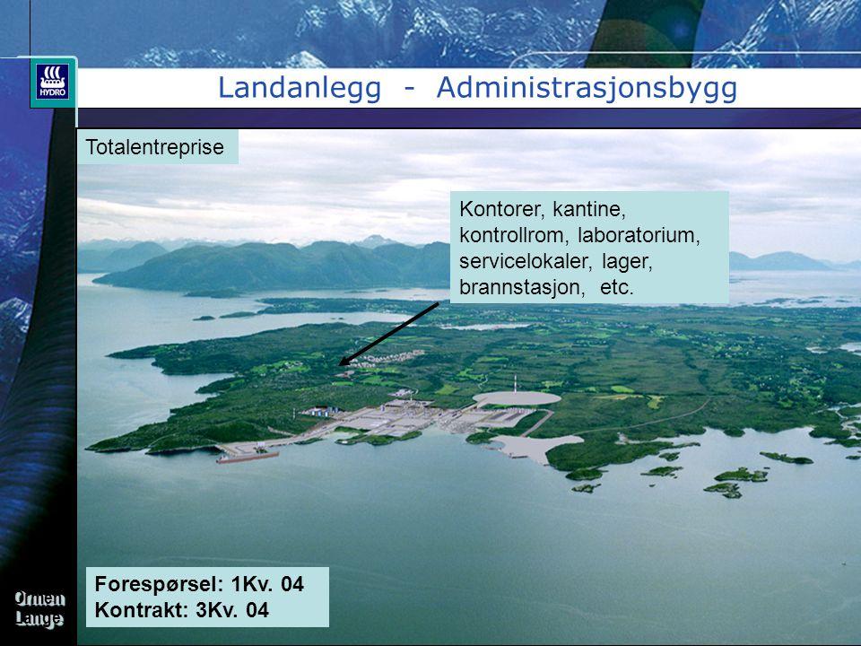 Landanlegg - Administrasjonsbygg