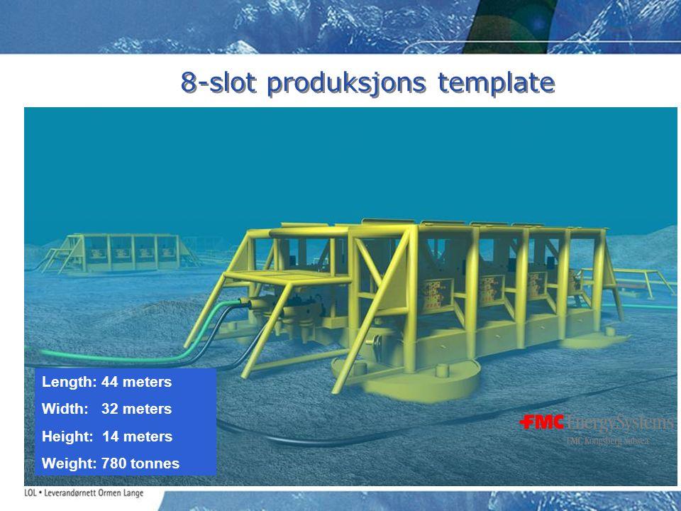 8-slot produksjons template