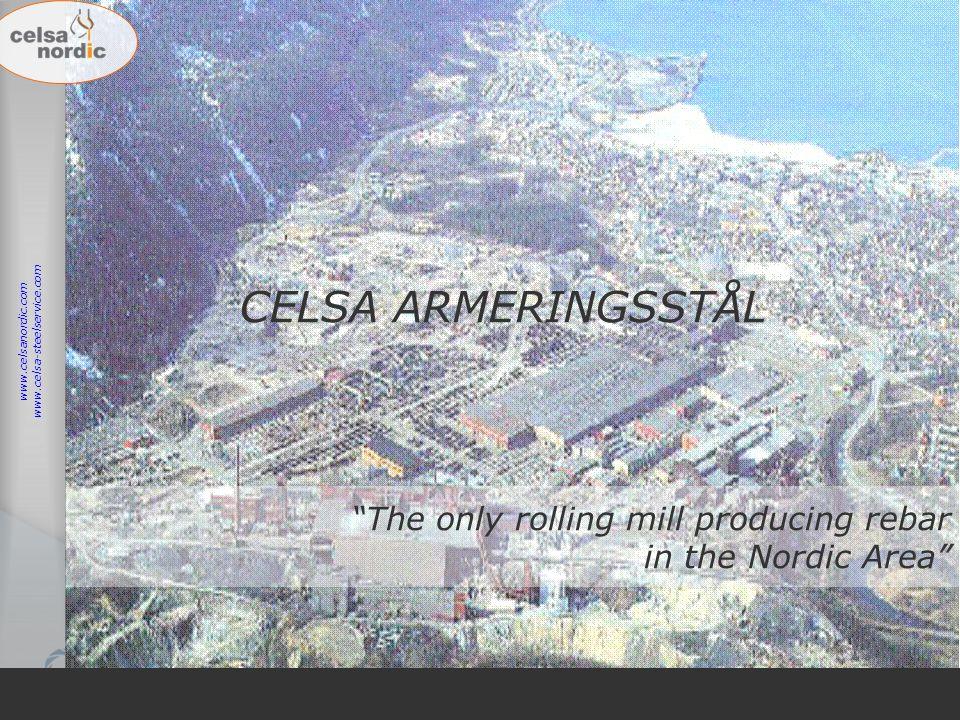 CELSA ARMERINGSSTÅL www.celsa-steelservice.com. www.celsanordic.com.