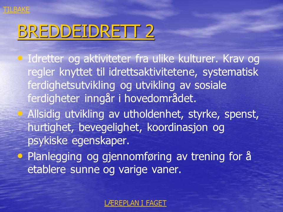 TILBAKE BREDDEIDRETT 2.