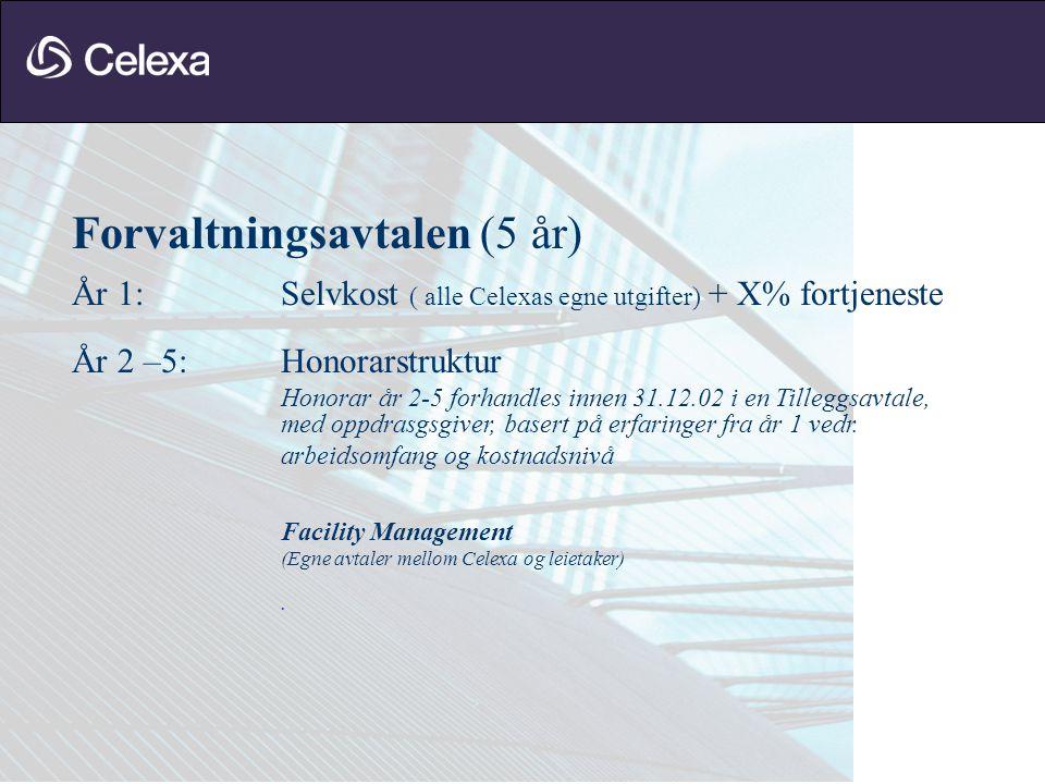 Forvaltningsavtalen (5 år)