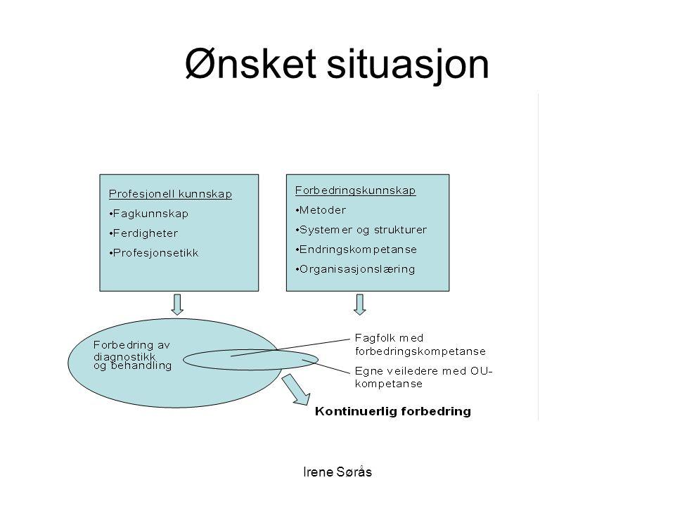 Ønsket situasjon Irene Sørås