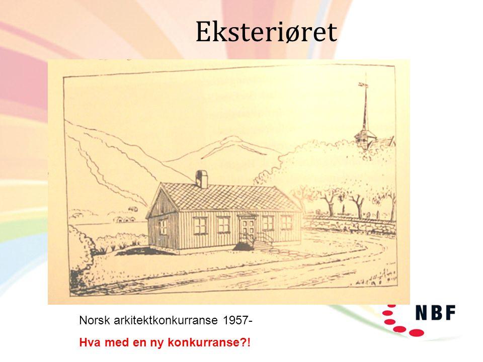 Eksteriøret Norsk arkitektkonkurranse 1957-