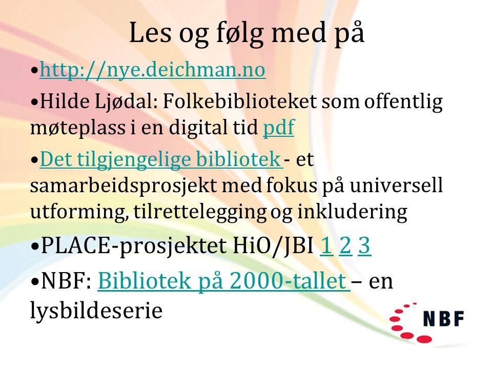 Les og følg med på PLACE-prosjektet HiO/JBI 1 2 3
