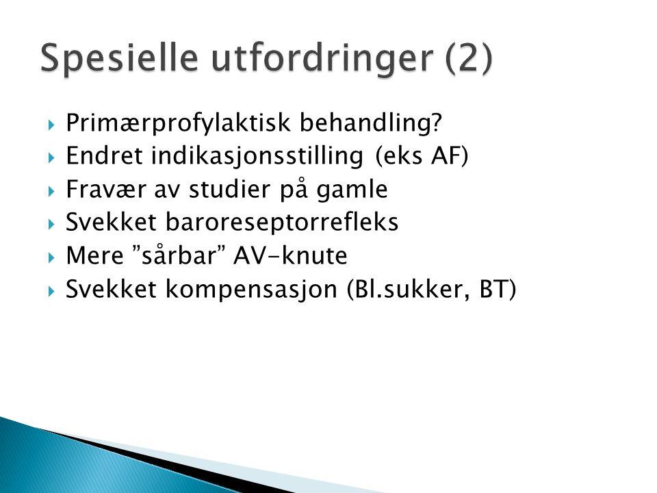 Spesielle utfordringer (2)