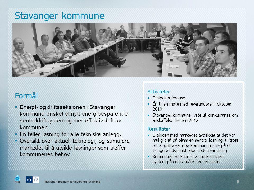 Stavanger kommune Formål