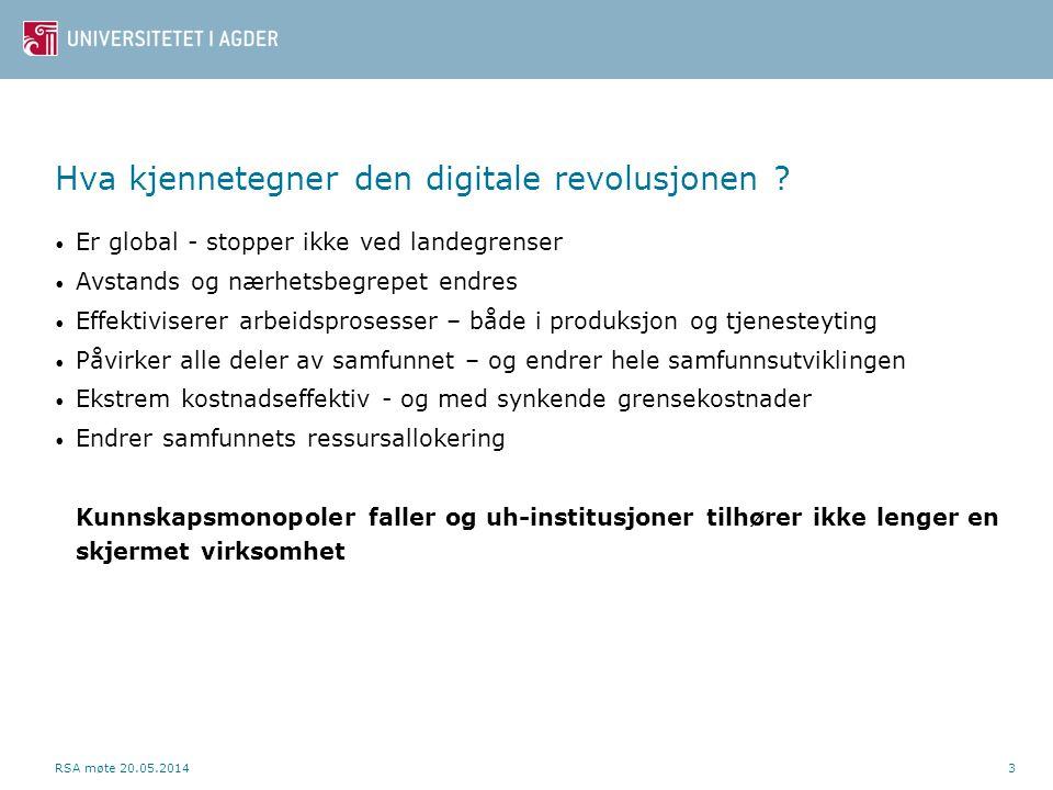 Hva kjennetegner den digitale revolusjonen