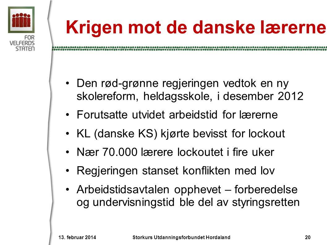 Krigen mot de danske lærerne