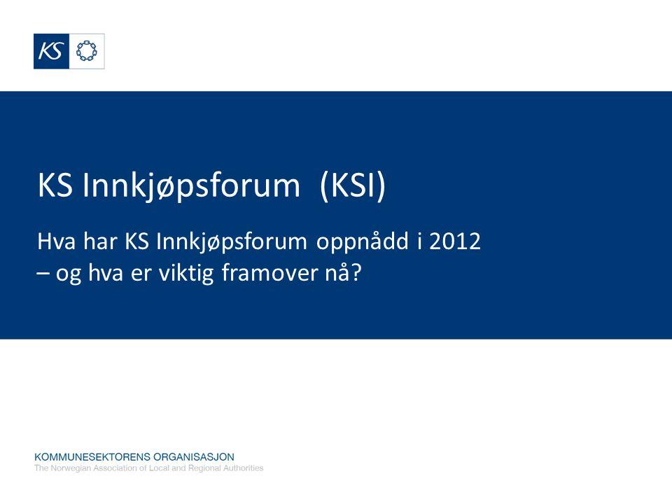 KS Innkjøpsforum (KSI)