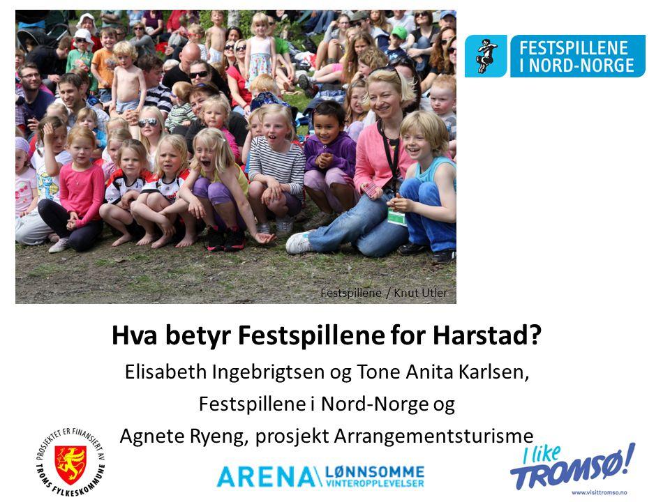 Hva betyr Festspillene for Harstad