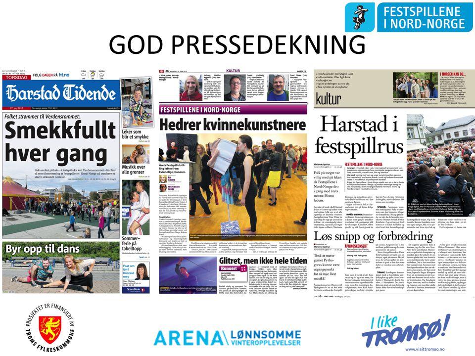 GOD PRESSEDEKNING