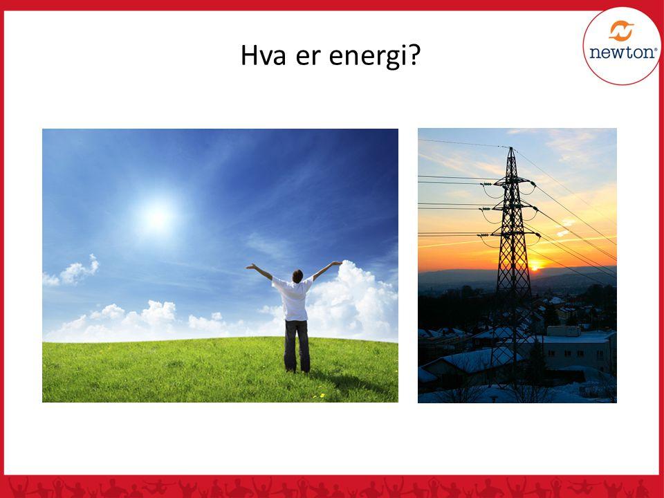 Hva er energi