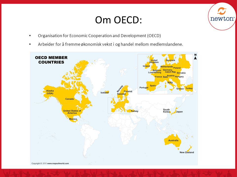Om OECD: Organisation for Economic Cooperation and Development (OECD)