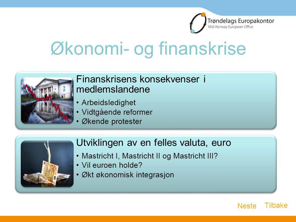 Økonomi- og finanskrise