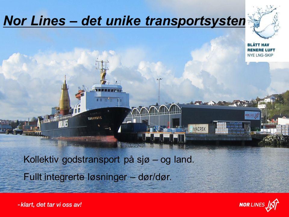 Nor Lines – det unike transportsystem.