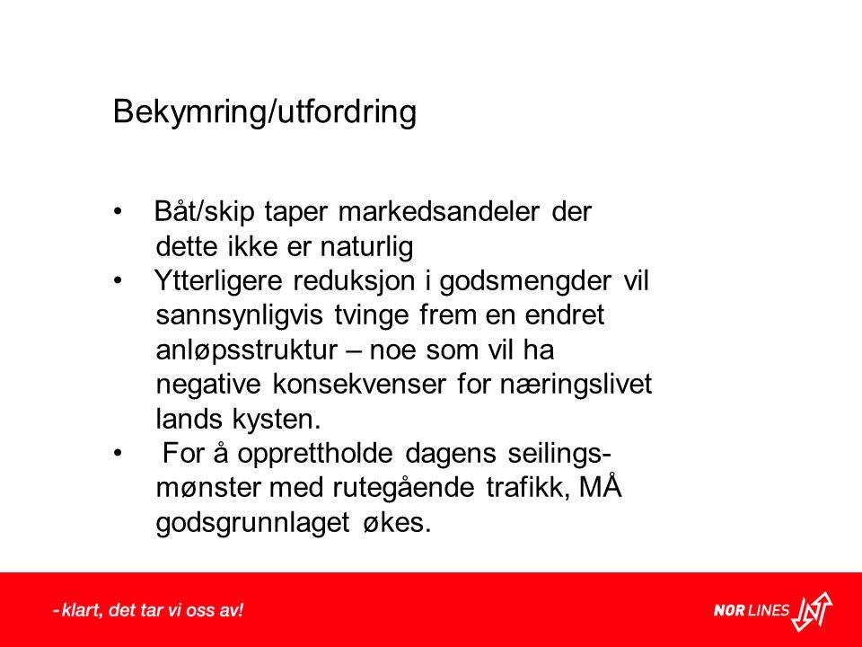 Bekymring/utfordring