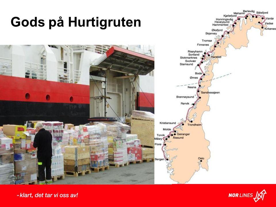Gods på Hurtigruten