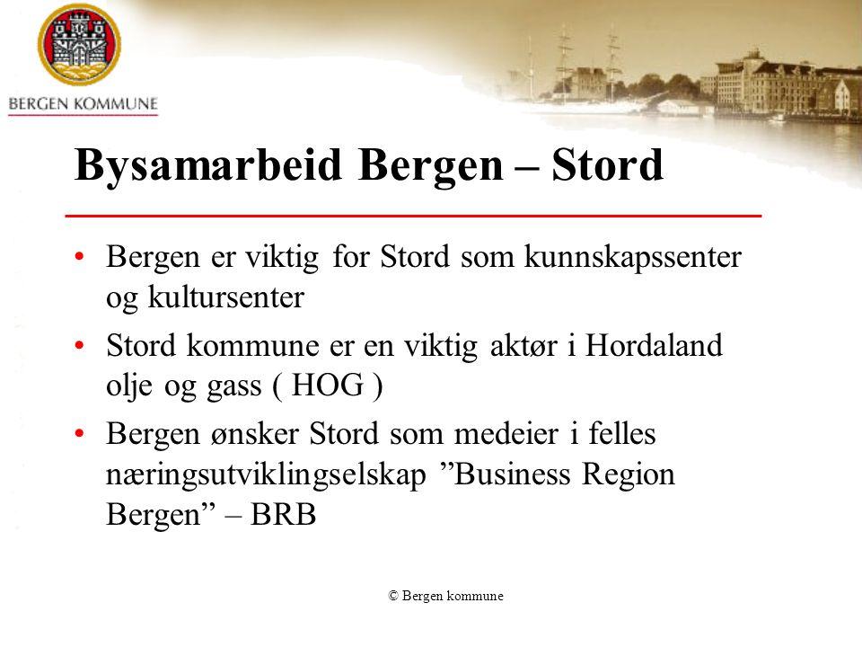 Bysamarbeid Bergen – Stord