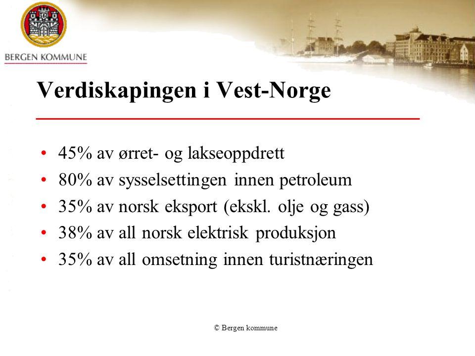 Verdiskapingen i Vest-Norge