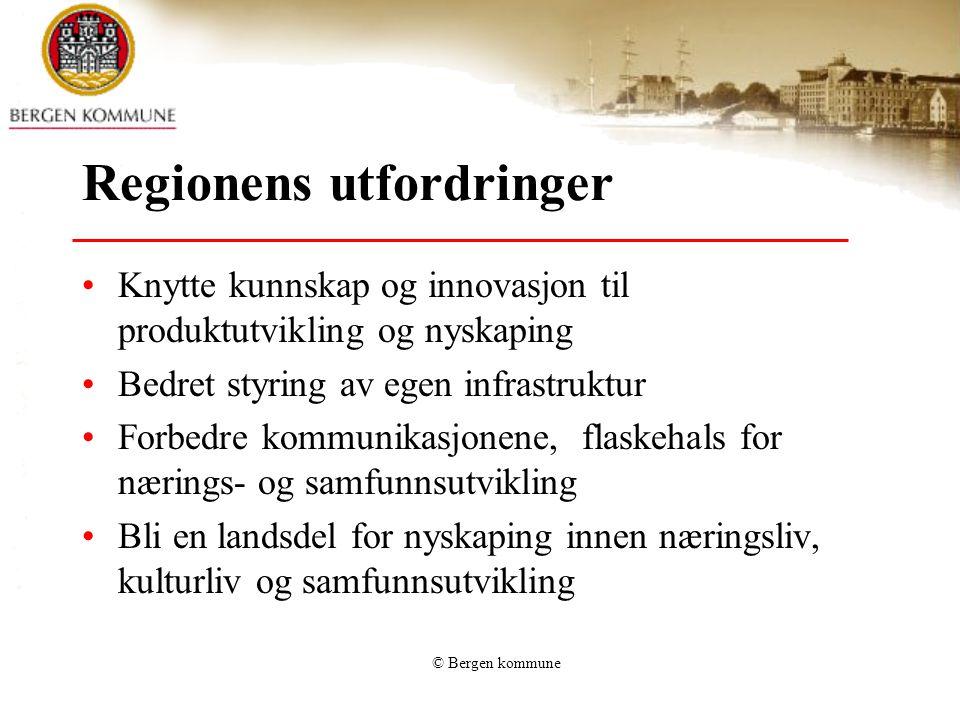 Regionens utfordringer