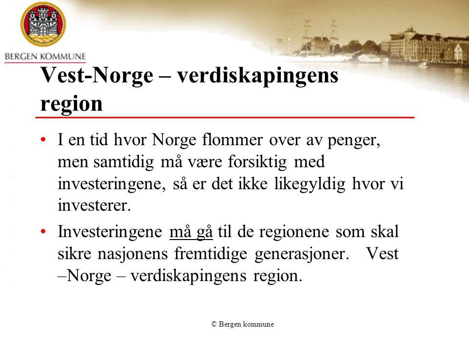 Vest-Norge – verdiskapingens region