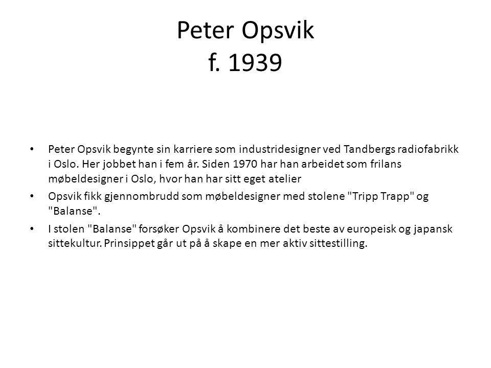 Peter Opsvik f. 1939