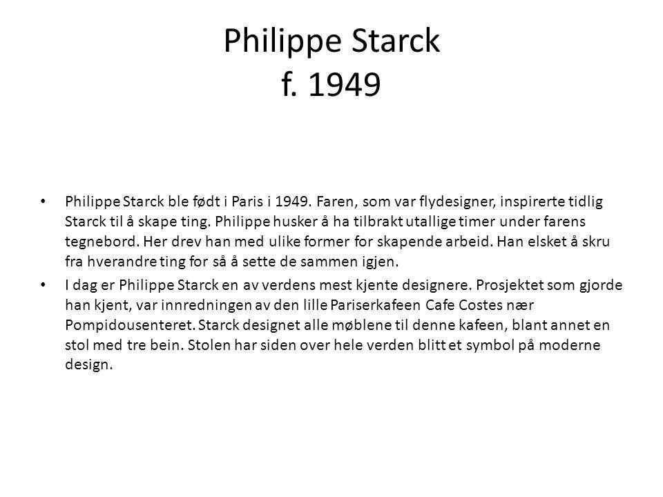 Philippe Starck f. 1949