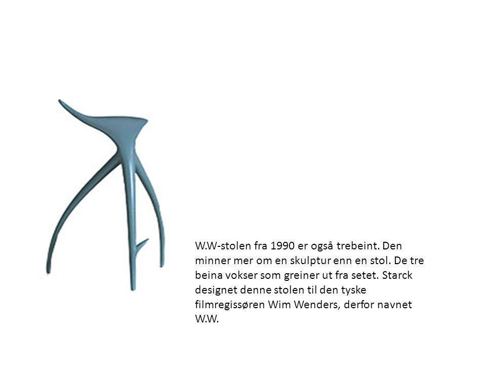 W. W-stolen fra 1990 er også trebeint