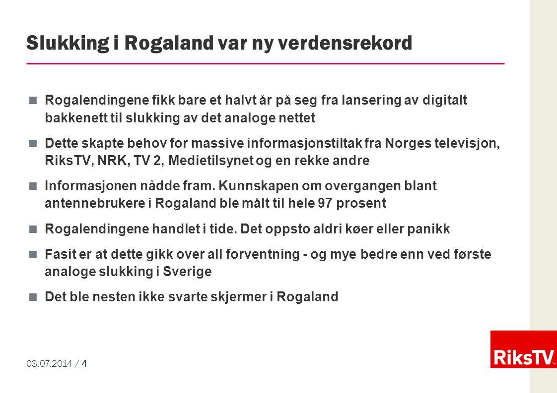 Slukking i Rogaland var ny verdensrekord