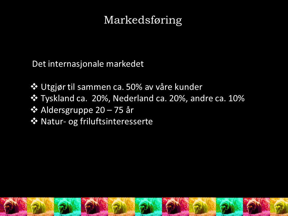 Markedsføring Det internasjonale markedet