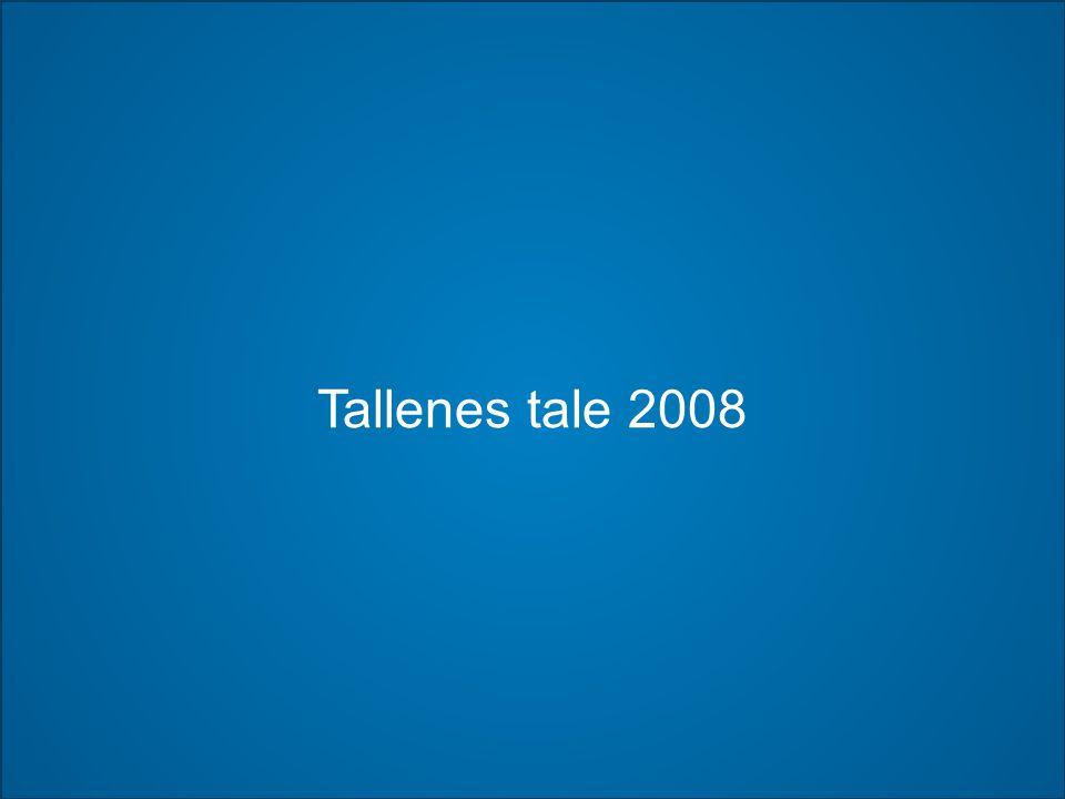Tallenes tale 2008