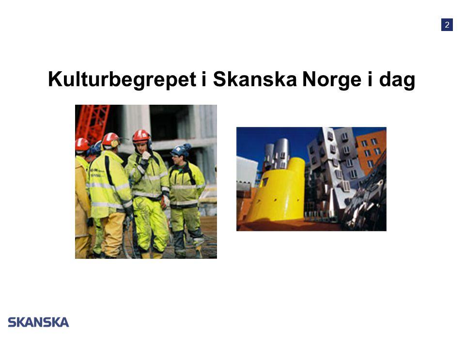 Kulturbegrepet i Skanska Norge i dag