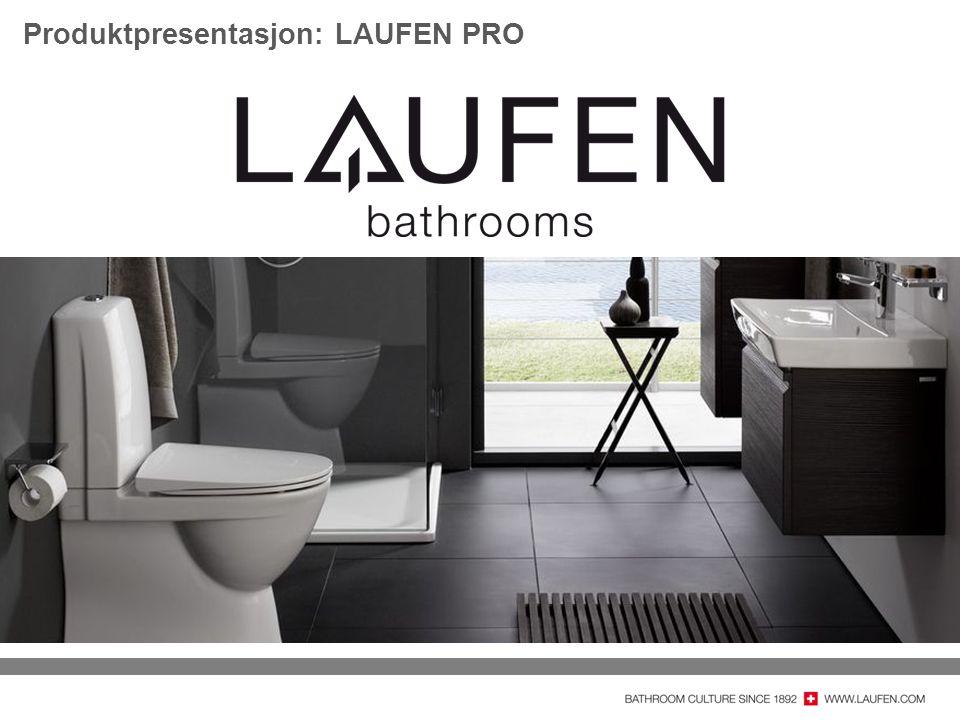 Produktpresentasjon: LAUFEN PRO