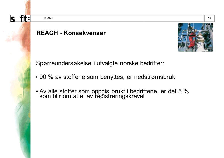 Spørreundersøkelse i utvalgte norske bedrifter: