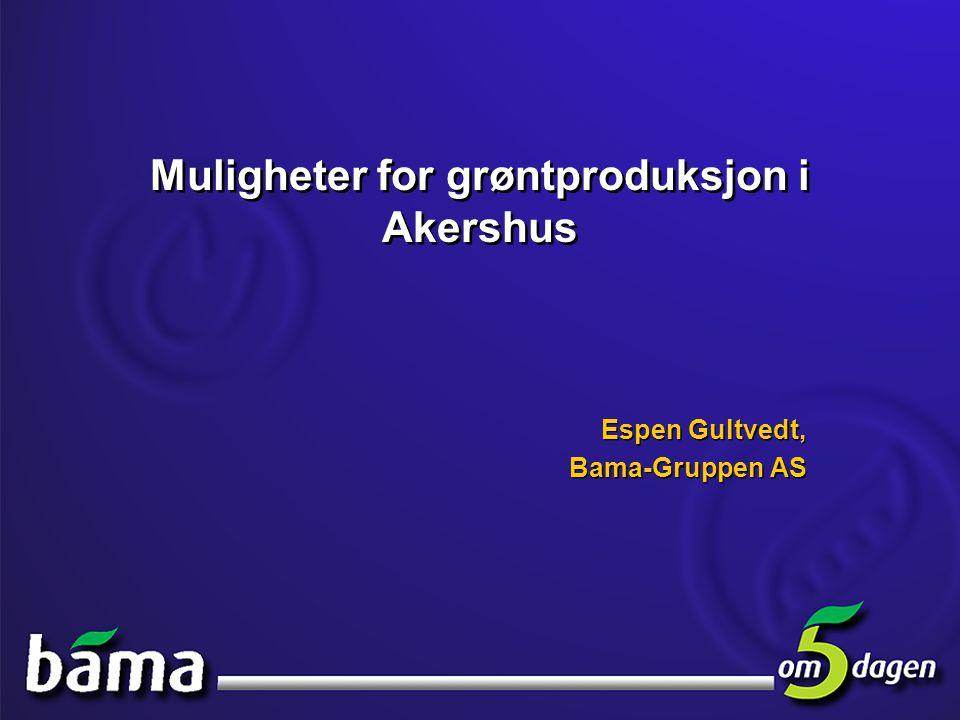 Muligheter for grøntproduksjon i Akershus